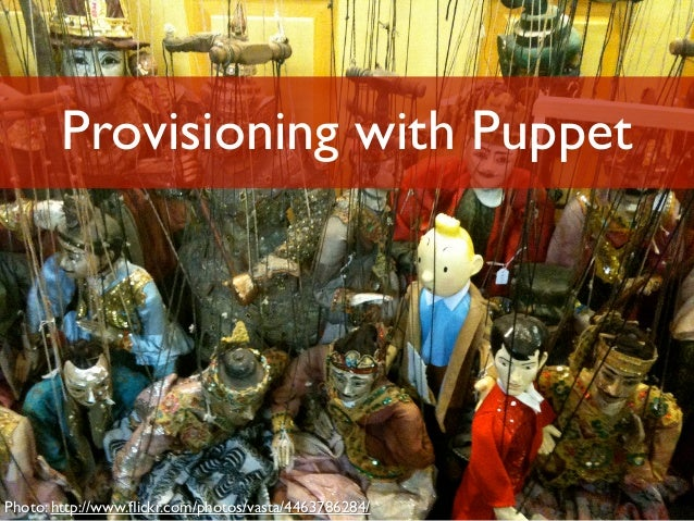 Provisioning with Puppet