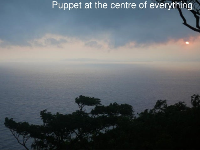 Puppet at the centre of everything by David Mytton