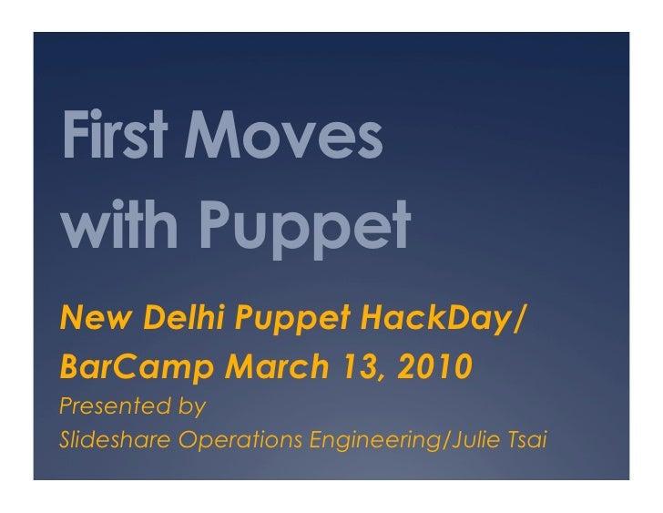Puppet HackDay/BarCamp New Delhi Exercises