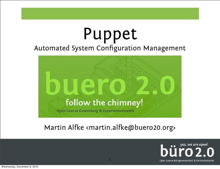 Puppet buero20 presentation