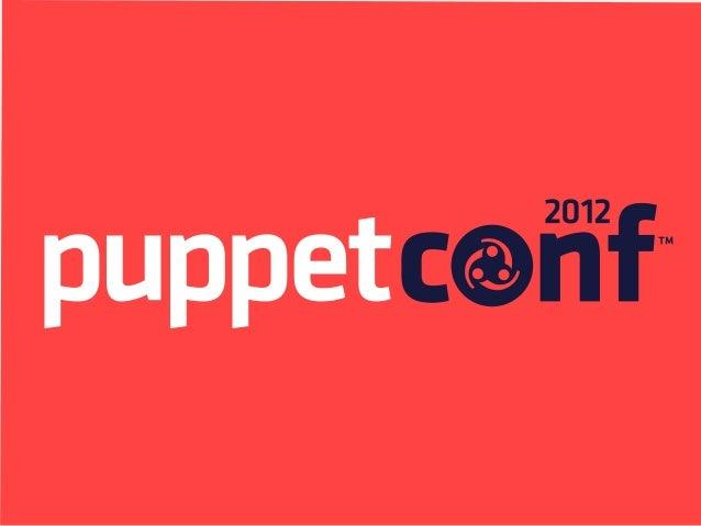 PuppetDB: Higher-order Puppet