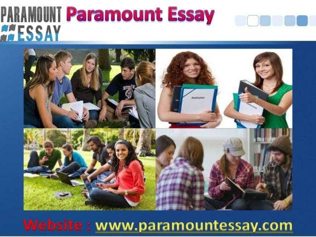 Paramountessay-Purchase essays