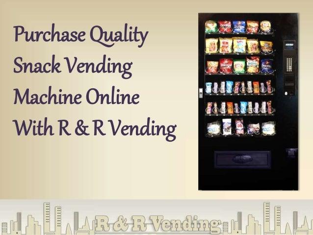 purchasing a vending machine