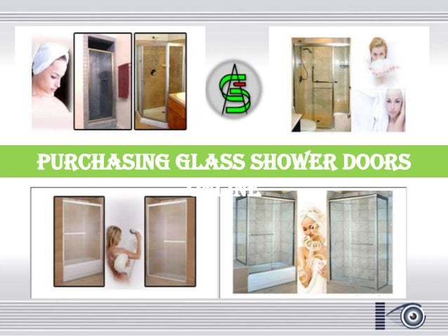 Purchasing glass shower doors online