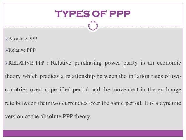 ... essay recent literature on cognitive science | Purchasing power parity