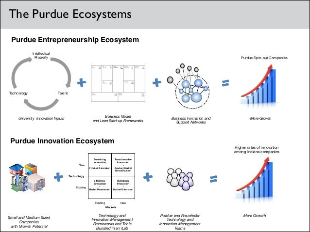 The Purdue Ecosystems Purdue Entrepreneurship Ecosystem Intellectual Property  Technology  Purdue Spin-out Companies  Tale...