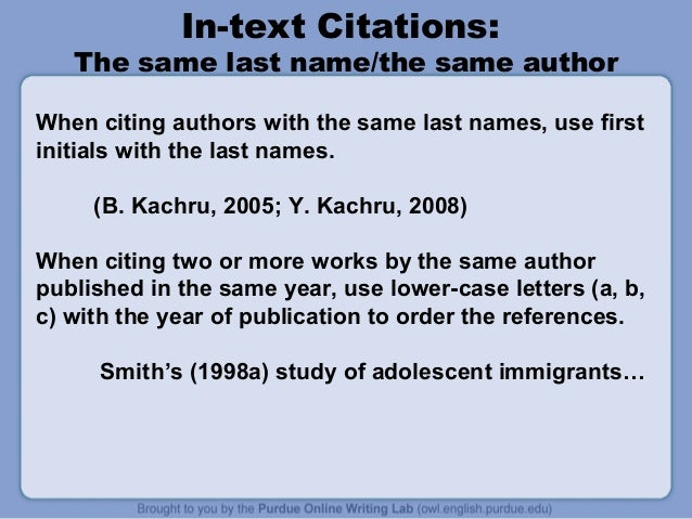 Apa in text citation essay in a book
