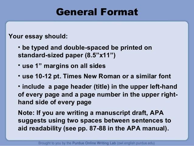 Apa Style Essay Paper Okl Mindsprout Co Apa Style Essay Paper Purdue Owl Apa  Style Guide