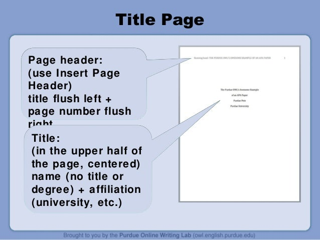 title page of research paper mla format