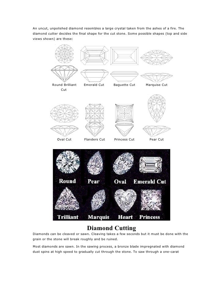 Uncut And Unpolished Diamonds an Uncut Unpolished Diamond