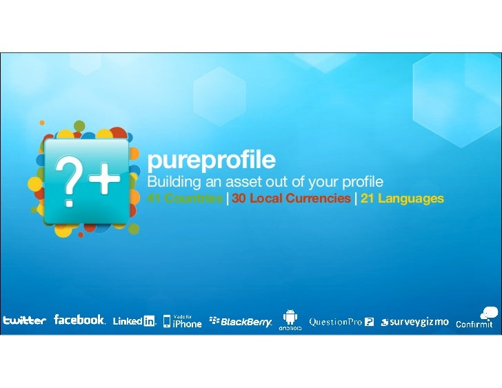 Pureprofile Overview Andres Grunbaum