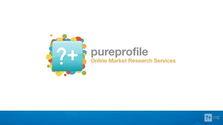 pureprofileOnline Market Research Services