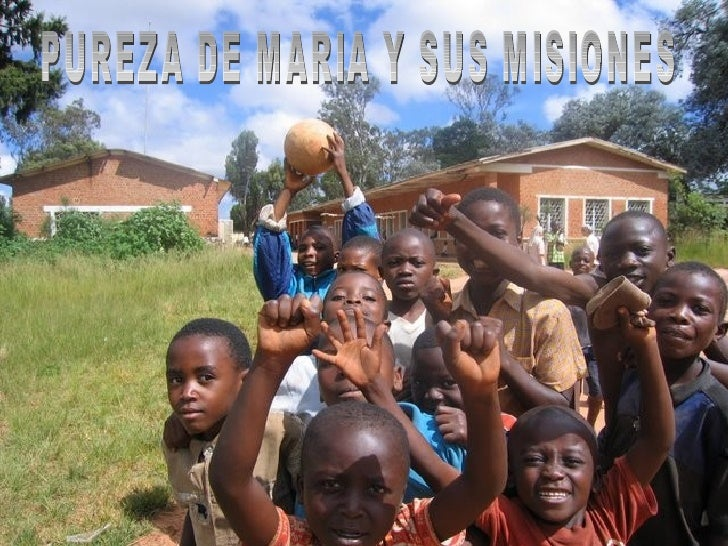 PurezadeMaríatrabajaenlaRepúblicaDemocrática del Congo en diferentes enclaves de la misma: en Kafaku...