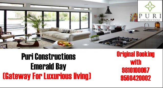 Puri Constructions         Original Booking                                       with         Emerald Bay               9...