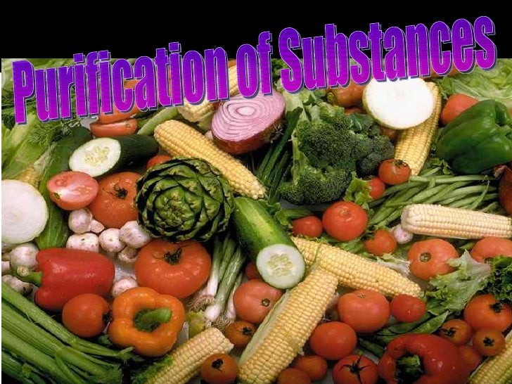 Purification of Substances