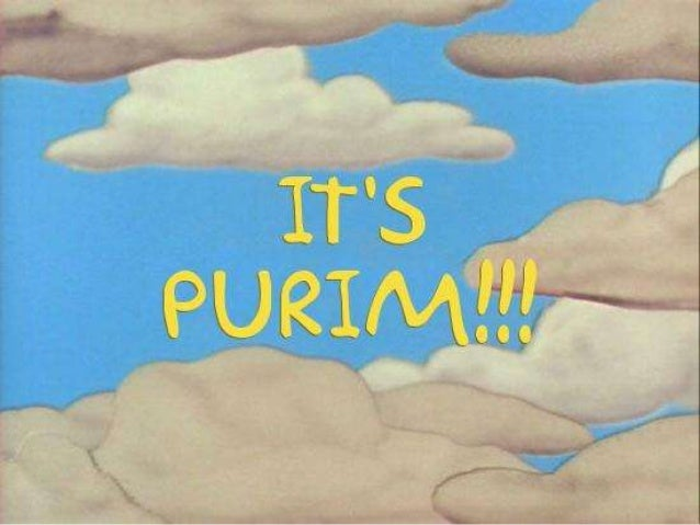 The Simpsons present Megillat Esther (Purim Story) by Rabbi Garry Wayland