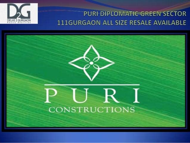 Puri Constructions Gurgaon