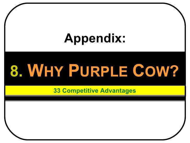 Purple cow employee benefits   2011 (why purple cow)