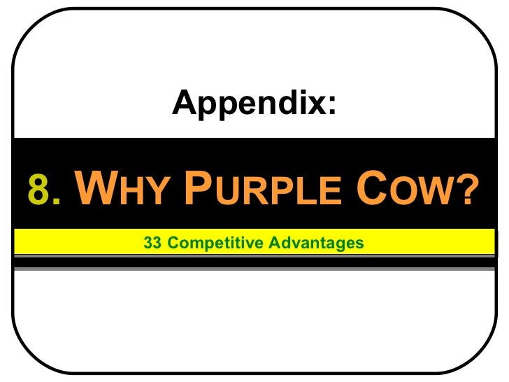 Purple cow employee benefits for sme   2011 (why purplecow)