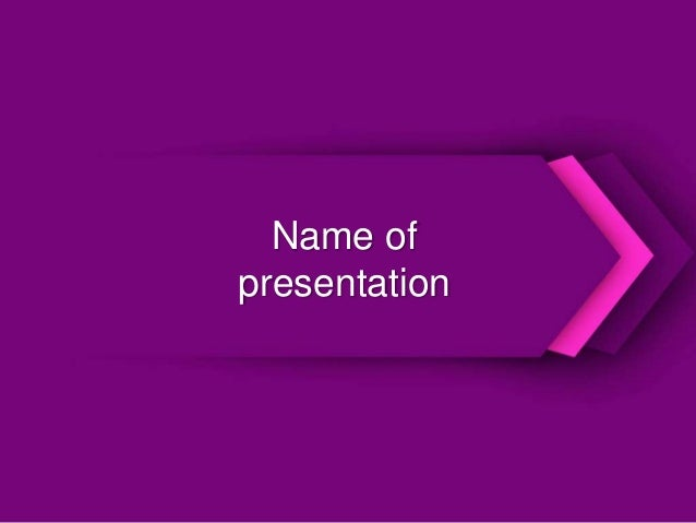 Purple powerpoint template