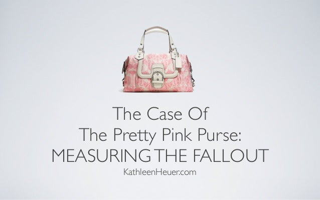 Facebook Marketing Case Study: The Case of the Pretty Pink Purse