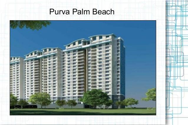 Purva Palm Beach  Price list Call @ 09999536147 In Bangalore.