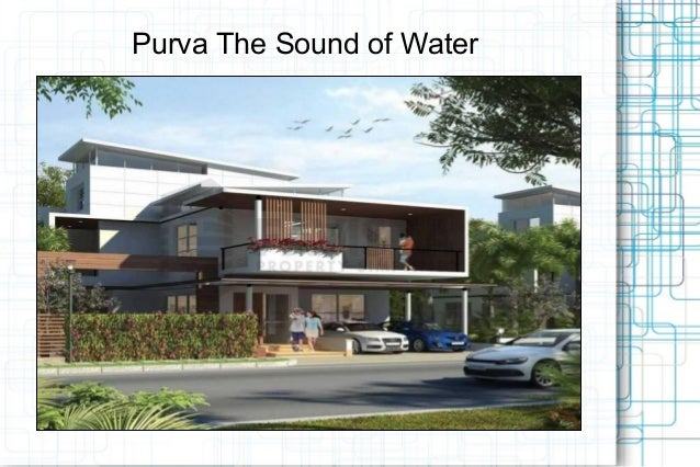 Purva The Sound of Water Resale Call @ 09999536147 Bannerghatta Road, Bangalore