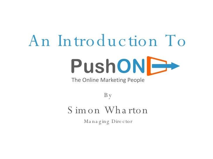 Push On Digital Editors Network Presentation V14