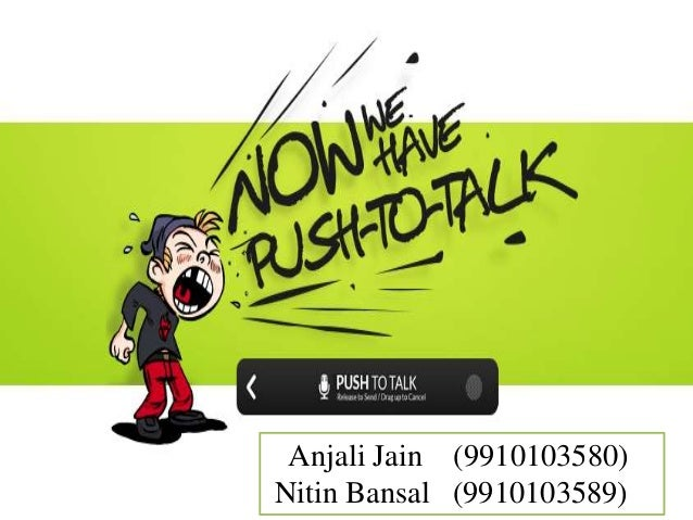 Push to-talk-android