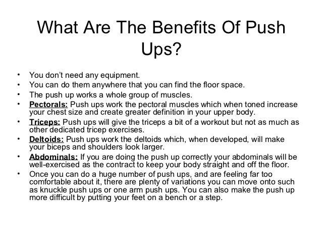 get better at push ups