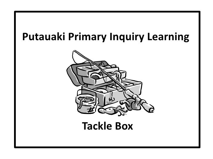 Putauaki Primary Inquiry Learning Tackle Box Stages