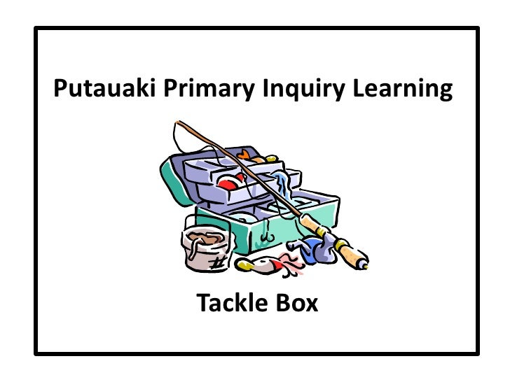 Putauaki Primary Inquiry Learning Tackle Box Stages (Colour Coded)