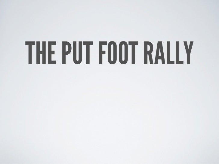 Putfoot Rally