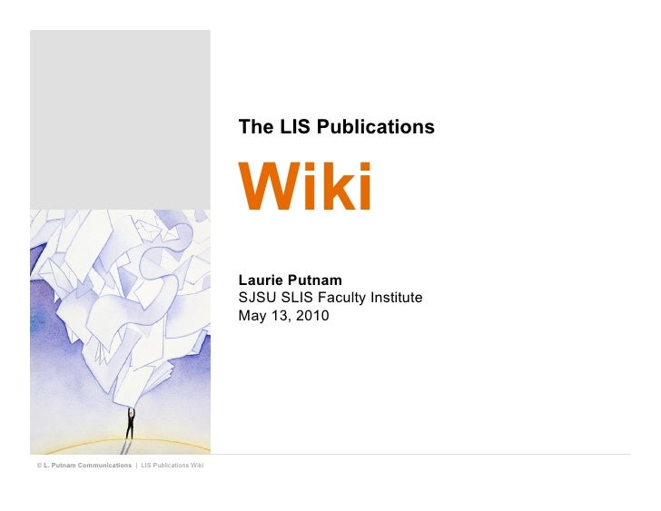 The LIS Publications                                                        Wiki                                          ...