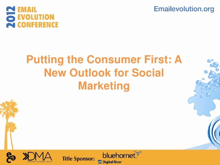 Putting the Consumer First