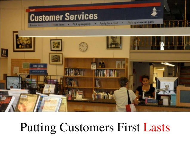 Putting Customers First Lasts
