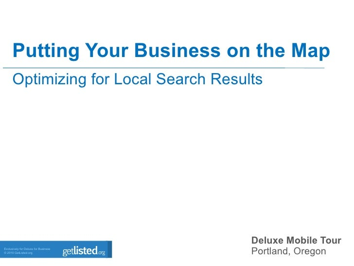 Putting your business on the map - David Mihm