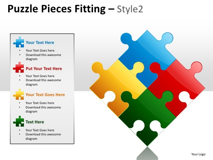 Puzzle Pieces Powerpoint Free Powerpoint Templates Puzzle Pieces
