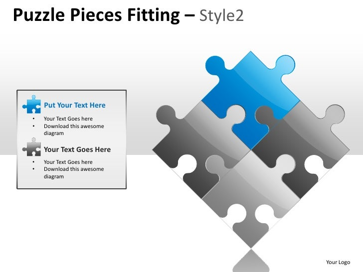 Puzzle Pieces Fitting Together Puzzle Pieces Fitting Style2