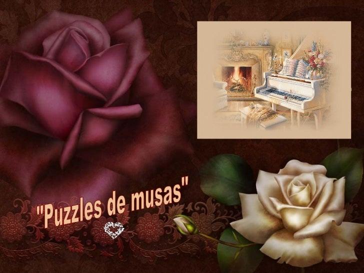 """""""Puzzles de musas"""""""