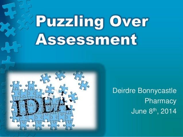 Deirdre Bonnycastle Pharmacy June 8th, 2014