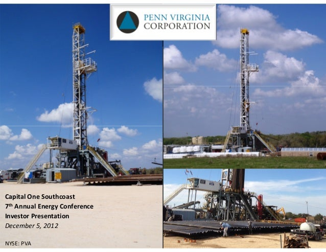 Capital One Southcoast7th Annual Energy ConferenceInvestor PresentationDecember 5, 2012NYSE: PVA