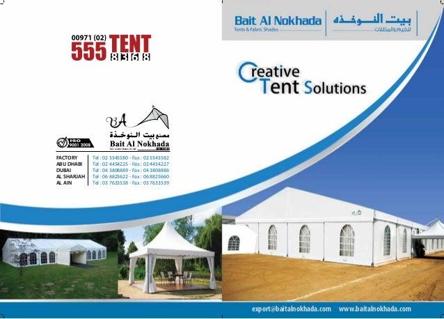 export@baitalnokhada.com www.baitalnokhada.com FACTORY Tel : 02 5545580- Fax : 02 5545582 ABU DHABI Tel : 02 4454225- ...