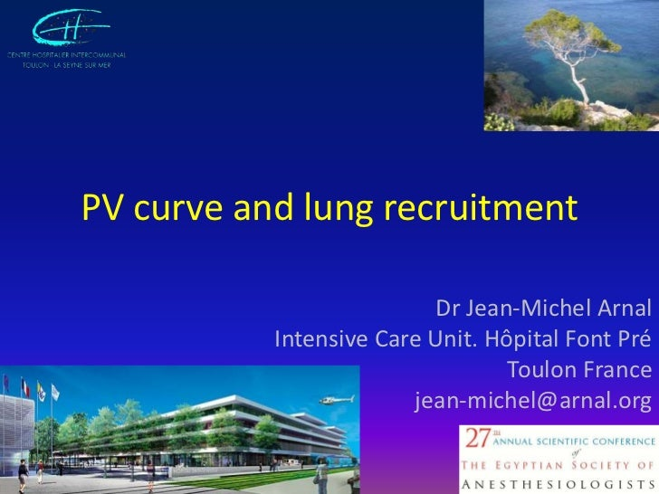 PV Curve and Lung Recruitment