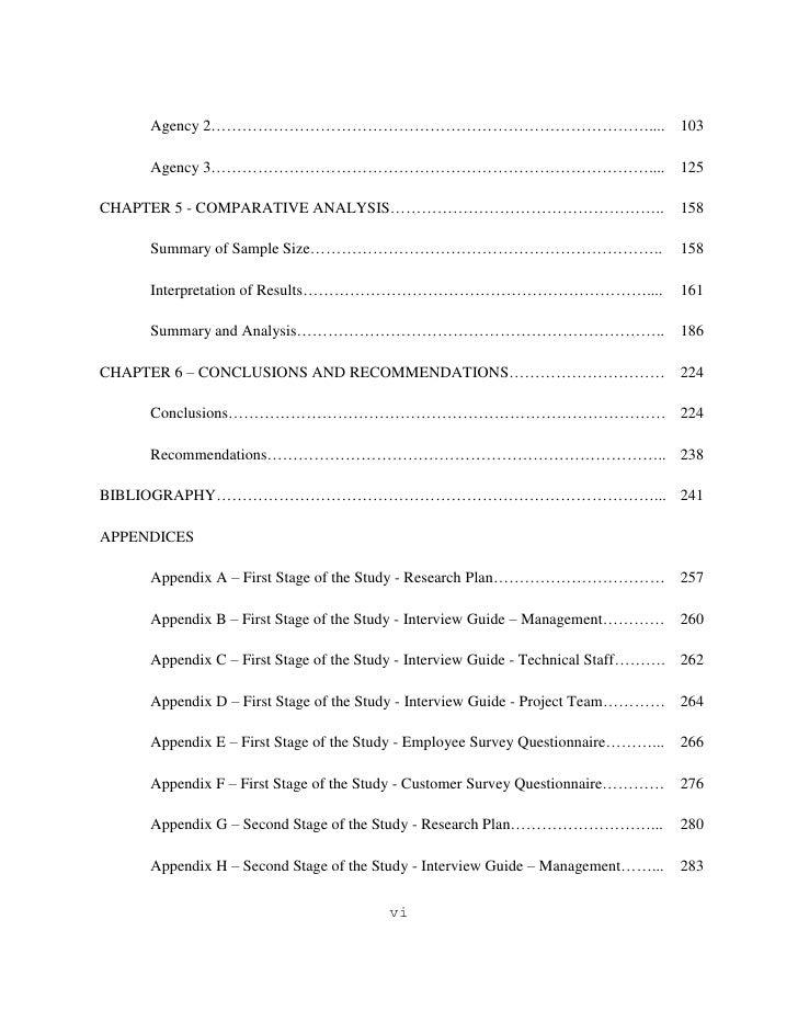 purpose of methodology in thesis