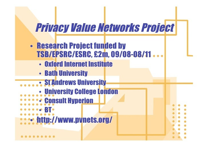 Privacy Value Networks