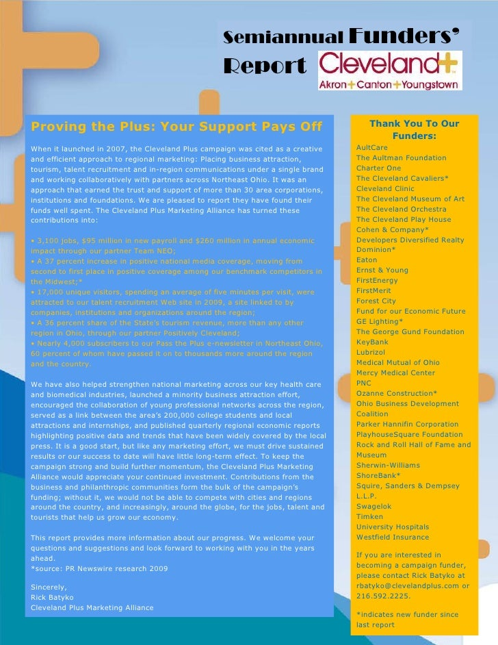 Funders' Report PDF
