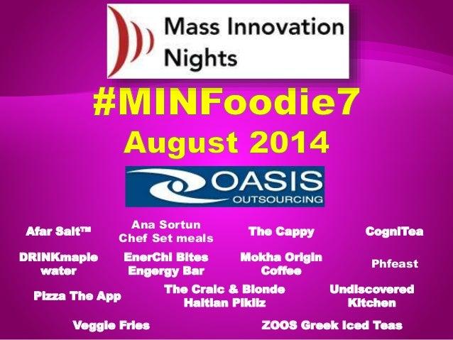 #MINFoodie7 event slideshow