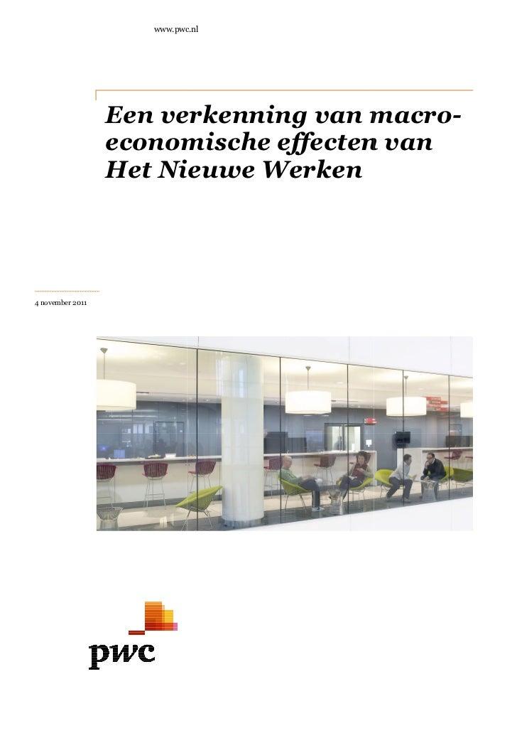 www.pwc.nl                  Een verkenn                       erkenning van macro                                     macr...