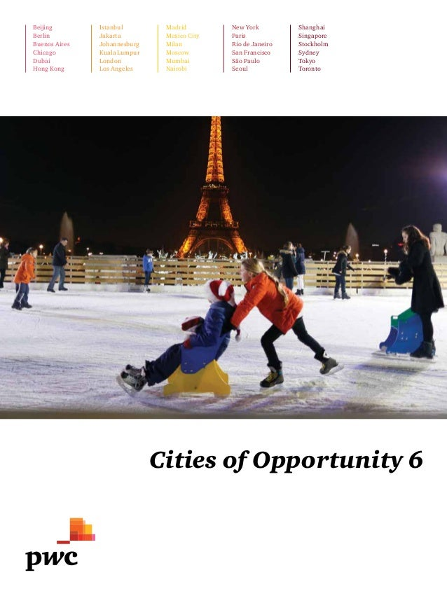 "Etude PwC ""Cities of Opportunity"" (2014)"